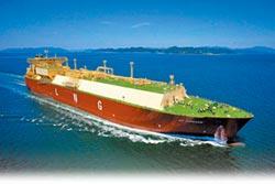 平衡台美貿易 中油天然氣船抵台
