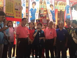 民進黨鋪天蓋地黑韓 洪秀柱:代表韓國瑜值得畏懼