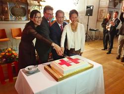 駐瑞典代表處國慶酒會遭打壓 外交部譴責
