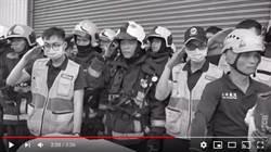 工廠救火實錄 消防員影片網友噴淚