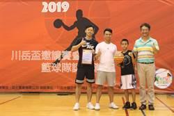 籃球運動從小紮根  中市診所認養球隊、社團捐基金