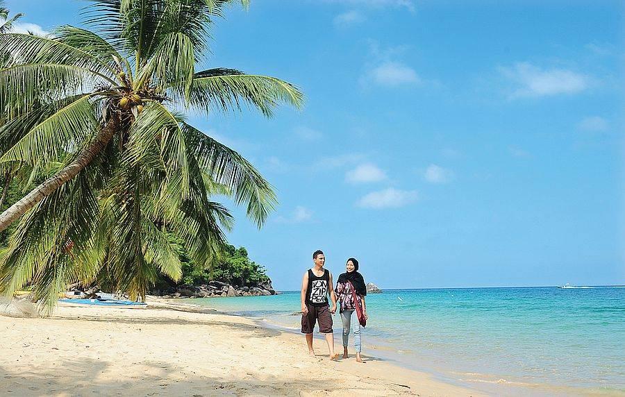 到馬來西亞尋找秘密度假基地,境內擁有大大小小上千個島嶼,絕對是度假首選!(馬來西亞觀光局提供)