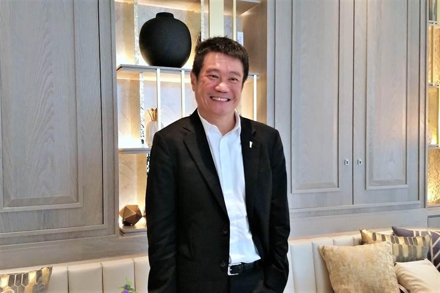 王品台灣事業群執行長李森斌。(林資傑攝)