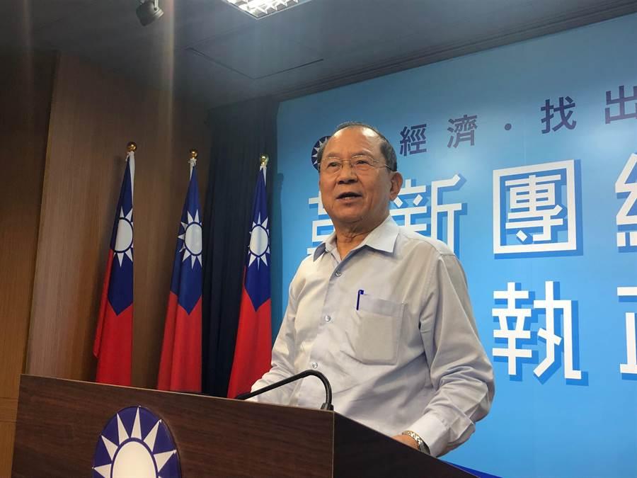國民黨副秘書長兼組發會主委杜建德。(趙婉淳攝)