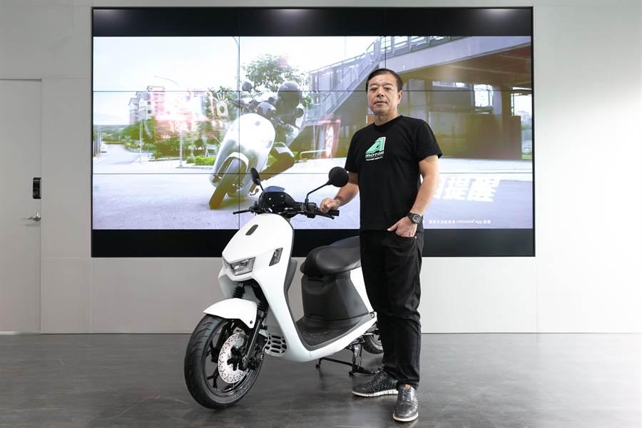 宏佳騰董事長鍾杰霖期待能為屏東鄉親帶來最好的服務與環保騎乘體驗。