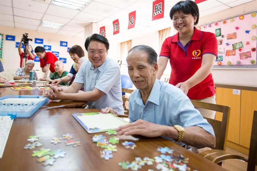 日照中心年底揭牌,提供失智長者日間照顧,落實在地老化。(市府提供/許家寧基隆傳真)