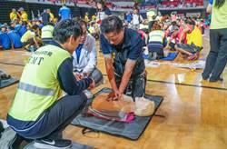 新竹縣加強民眾CPR 新竹市義消特搜隊做特訓