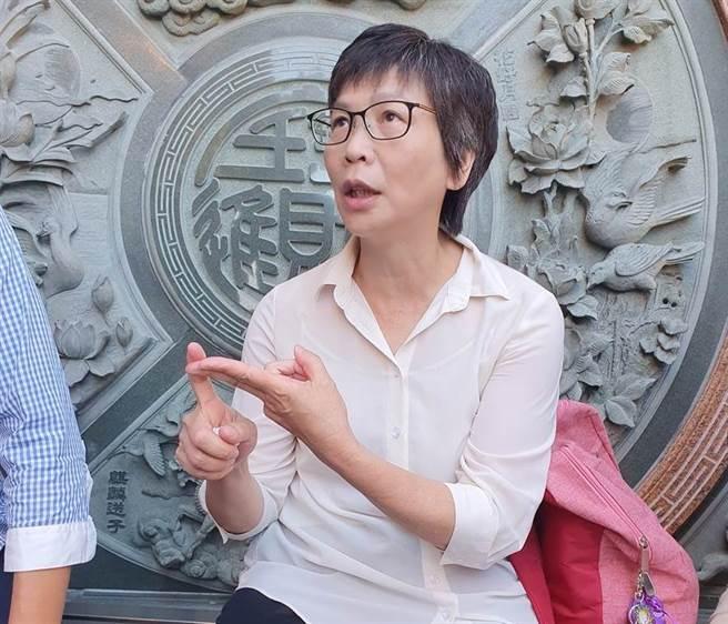 台北市政府顧問蔡壁如。(圖/資料照片)