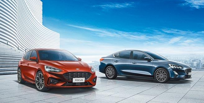 第四代Ford Focus銷量Number萬圖片提供福特汽車