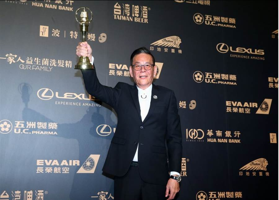 第54屆電視金鐘獎,圖為龍劭華。(影視攝影組攝)