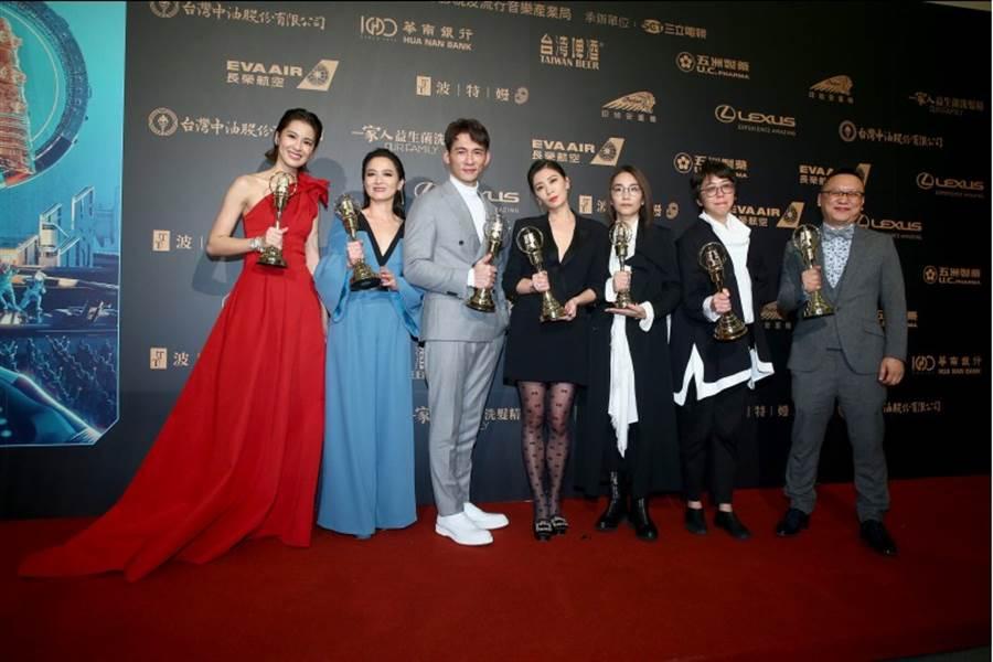 《我們與惡的距離》拿了6大獎,是金鐘54大贏家。(影視攝影組攝)