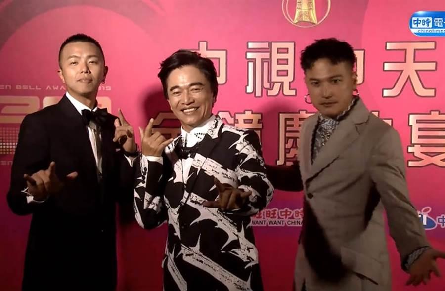 吳宗憲這次金鐘獎入圍5項全槓龜。(圖/取自中時電子報臉書)