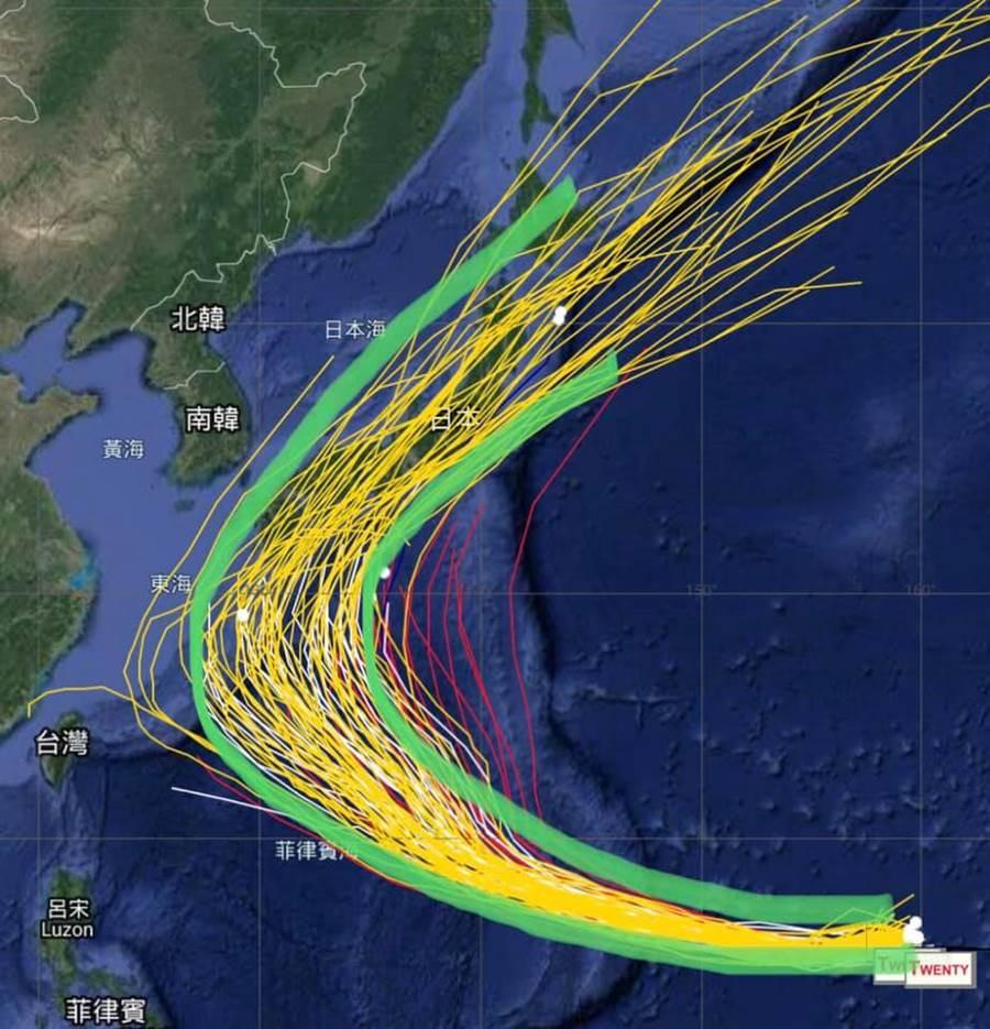 賈新興說,有1個特例獨行,發生的機率極低,但對臺灣的影響最大。(翻攝自 賈新興臉書)