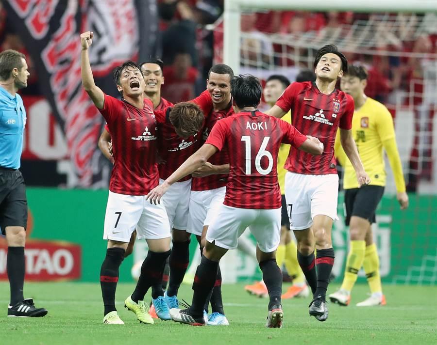 浦和紅鑽將較多的注意力放在亞洲冠軍盃的賽事。(達志影像)