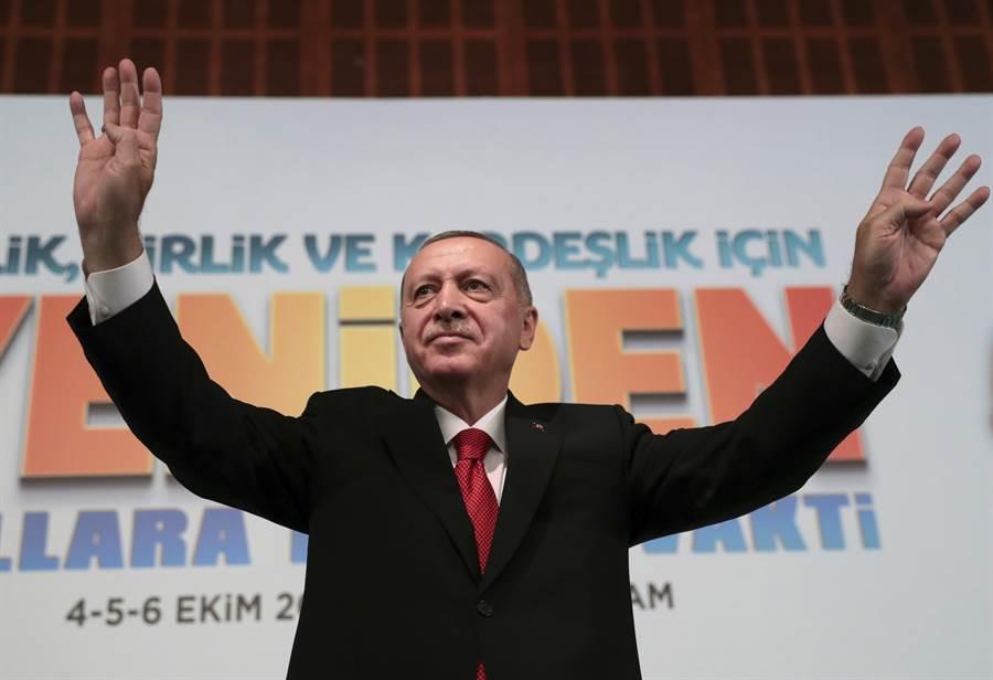 土耳其總統艾爾段。(美聯社)
