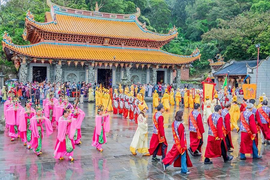 連江縣政府6日舉辦「媽祖在馬祖昇天祭」活動。(連江縣政府提供)