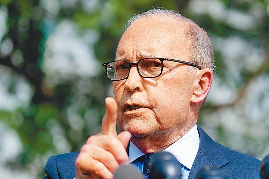 白宮貿易顧問庫德洛表示,美國將持續關注香港相關事態發展。圖/美聯社