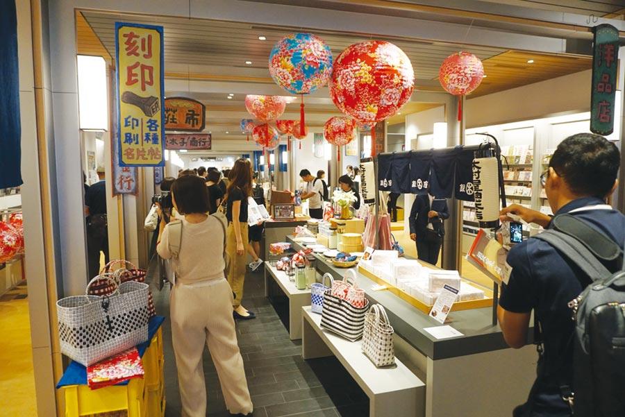日本橋都更的台灣味圖╱黃菁菁