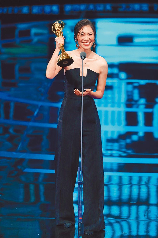梁湘華昨以《最美的風景》拿下迷你劇集新演員獎 。
