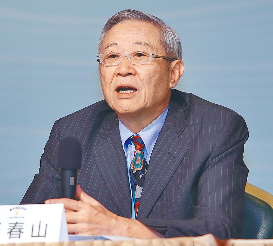 淡大大陸研究所榮譽教授趙春山。(本報系記者季志翔攝)