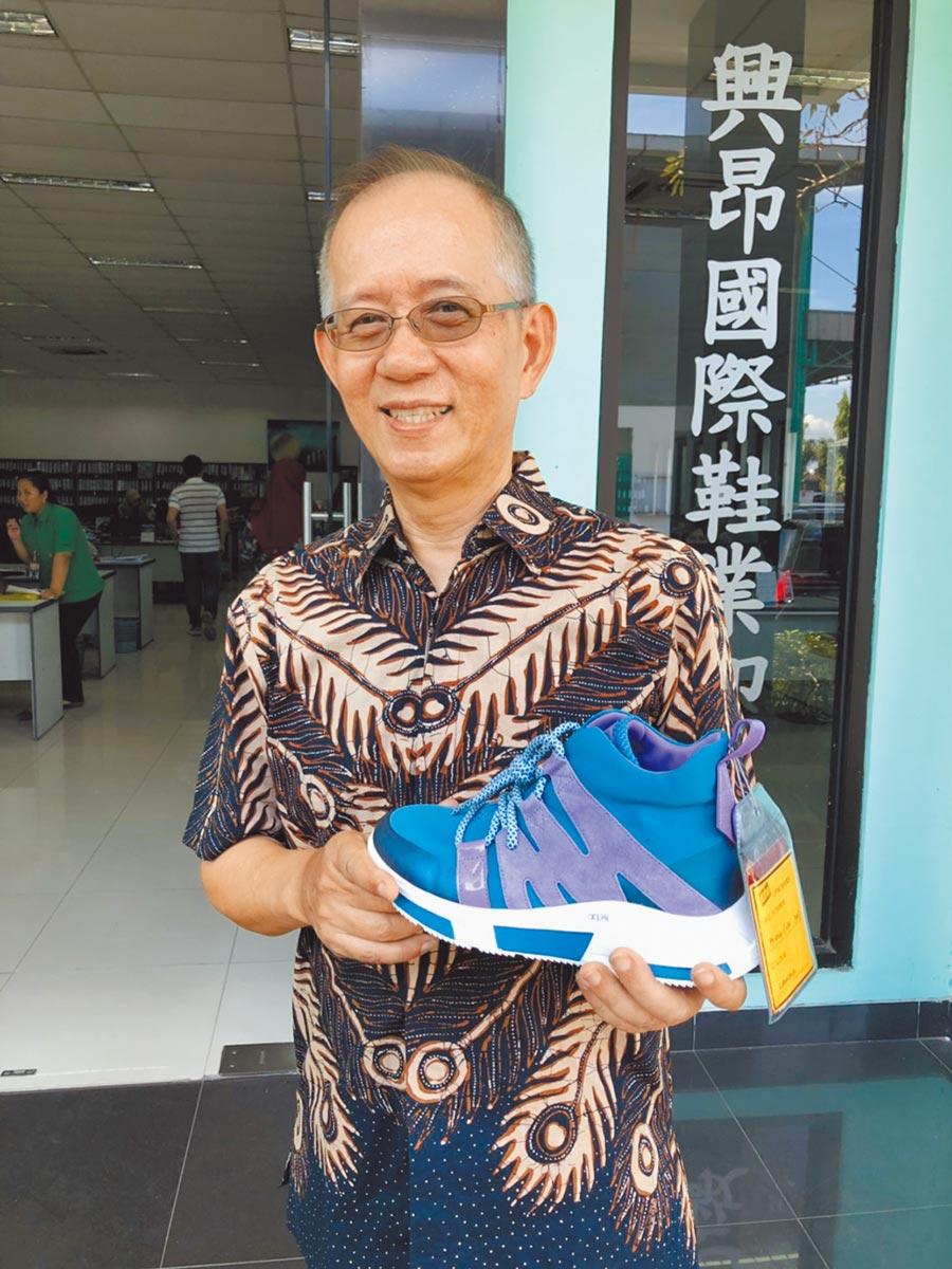 印尼興昂國際顧問楊俊德。(記者林汪靜攝)