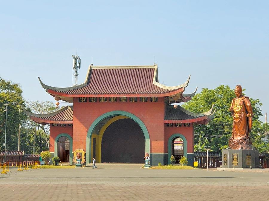 位於印尼中爪哇省三寶瓏的三寶公廟。(記者林汪靜攝)