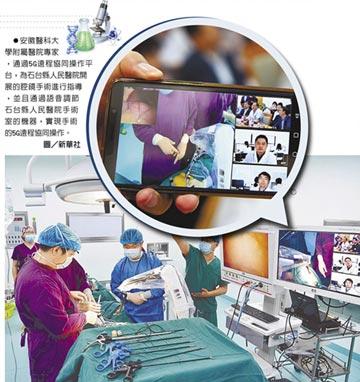 5G醫療大趨勢 讓治療沒有距離