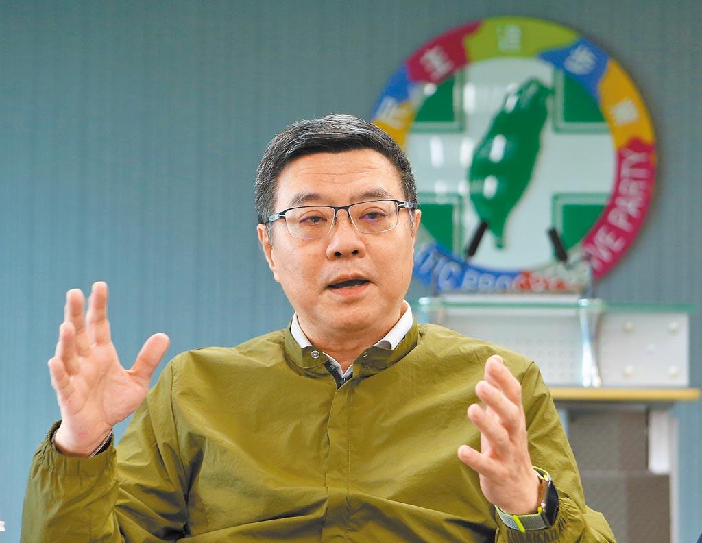 民進黨主席卓榮泰下達動員令,強調10月將進入聯合作戰階段。(本報系資料照片)