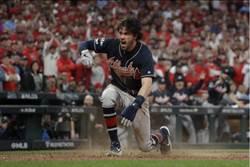 MLB》紅雀終結者放火 勇士聽牌