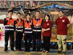 桃市消防局 赴馬來西亞野地救護奪冠