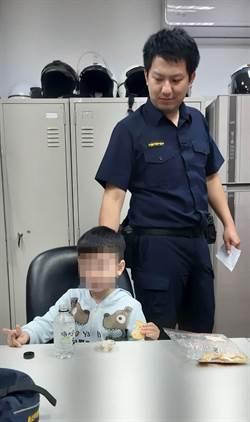 3歲幼童走失 永和警助返家