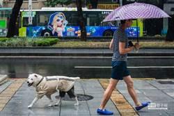 周二晚起變天!台北、東部轉大雨勢
