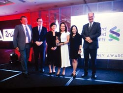 渣打銀行獲台灣最佳數位銀行獎