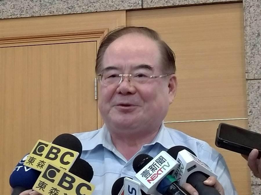 國民黨新北市黨部主委李乾龍。(黃福其/攝)