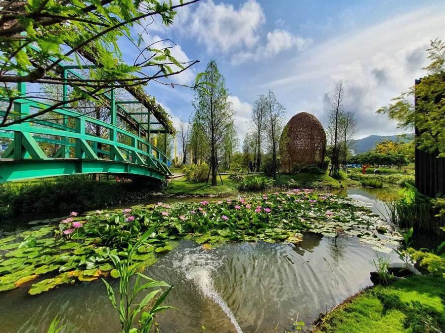 南台灣最美接待會館「潤隆樹禾苑」令人美不勝收。(柯宗緯攝)