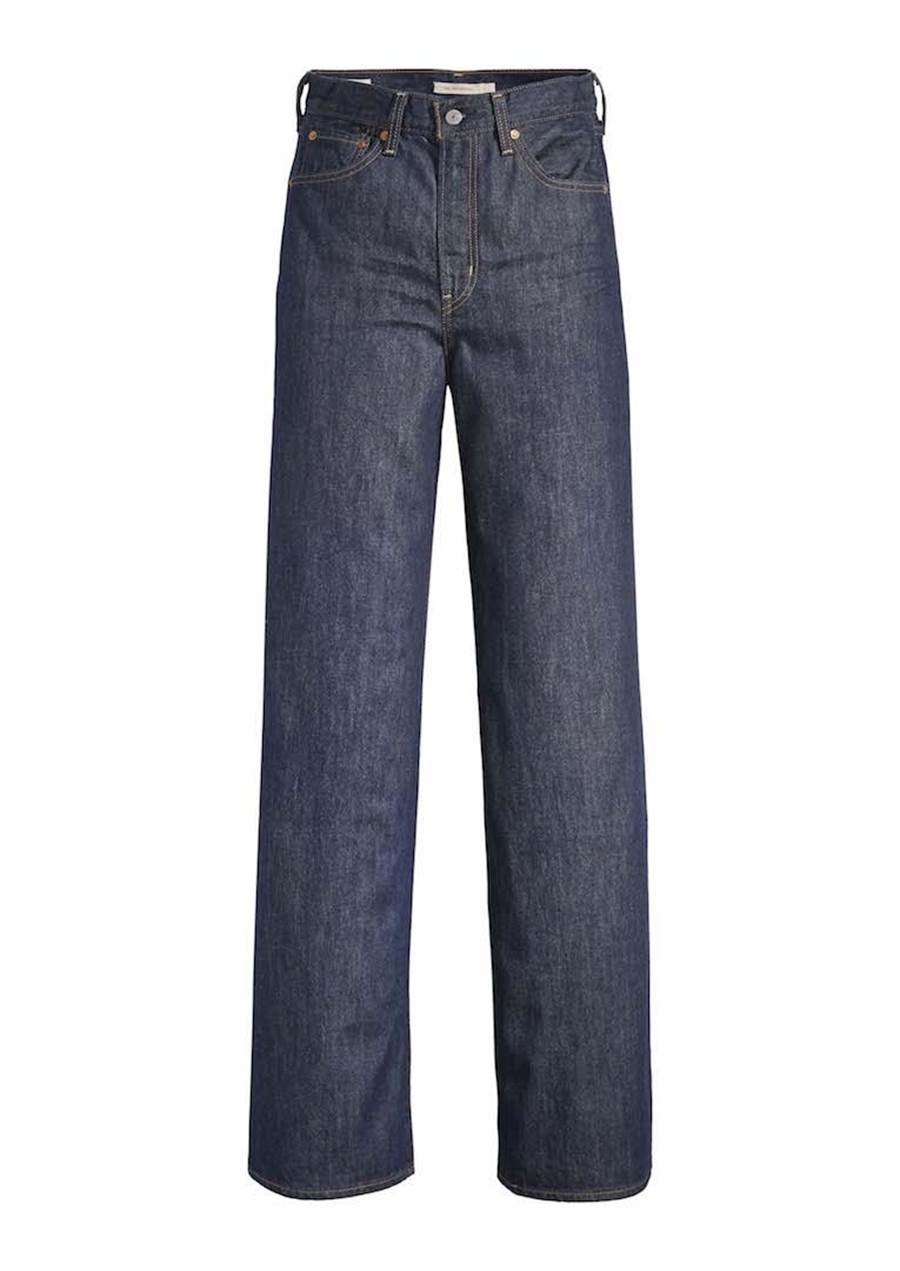 LEVI'S RIBCAGE 高腰寬褲,3990元。(LEVI'S提供)