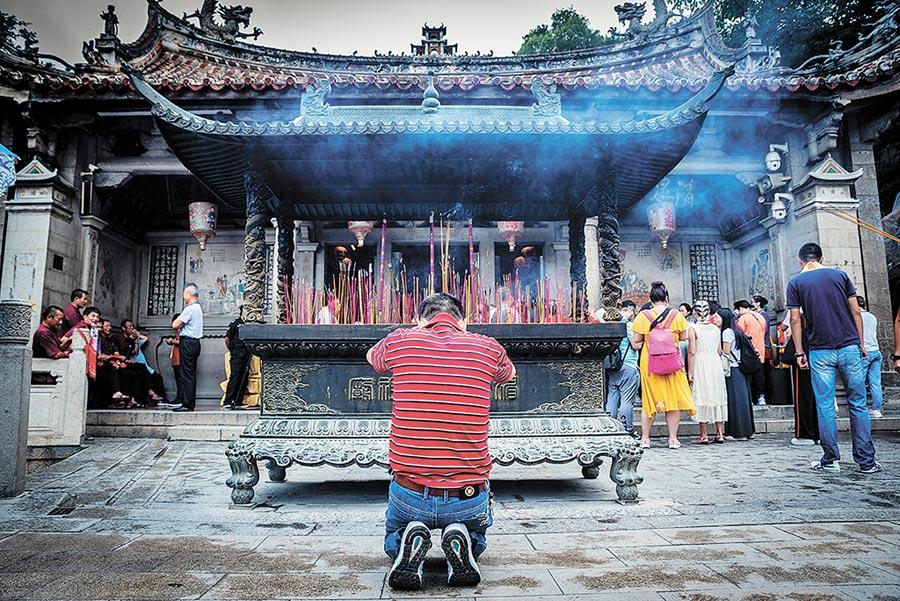媽祖成為連結華人世界信仰文化的共通符號。(周麗川攝)