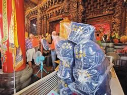 順澤宮神帽已送4萬餘頂  雙十連假加送4千頂