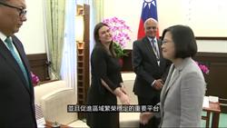 蔡英文:加強夥伴關係因應區域挑戰和威脅