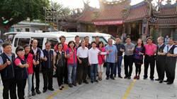 陶藝家林煙朝 義賣陶藝再次捐贈復康巴士