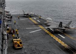 美陸戰隊新里程碑 兩棲攻擊艦載F35B轉型輕航母