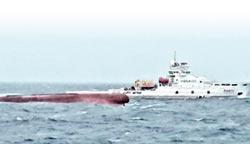 陸漁船翻覆 陸港台同步搜救