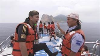 吳俊諺超lucky 千隻海豚貼身伴游