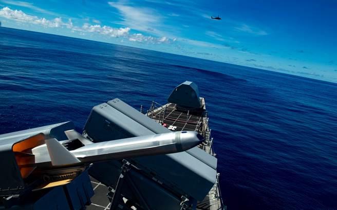 RGM-184A海軍打擊飛彈,它有著匿蹤外型,以避免被雷達發現。(圖/美國海軍)