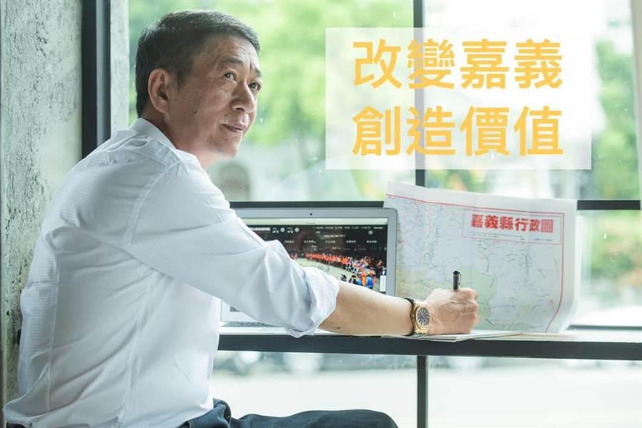 前民進黨立委林國慶投入嘉義縣立委選戰。(林國慶臉書)