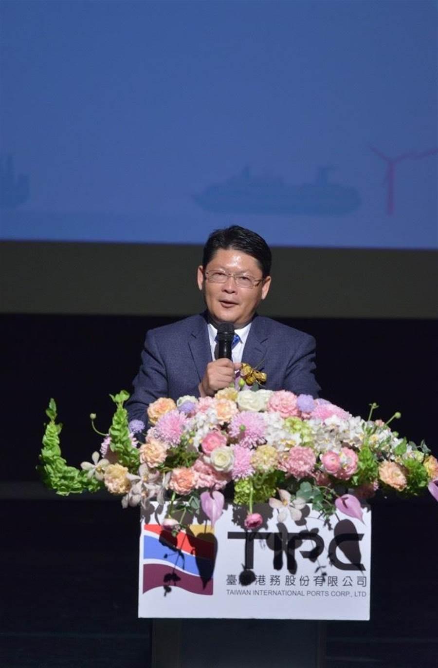 港務公司董事會通過黃玉霖代理董座。(圖/郭建志攝)