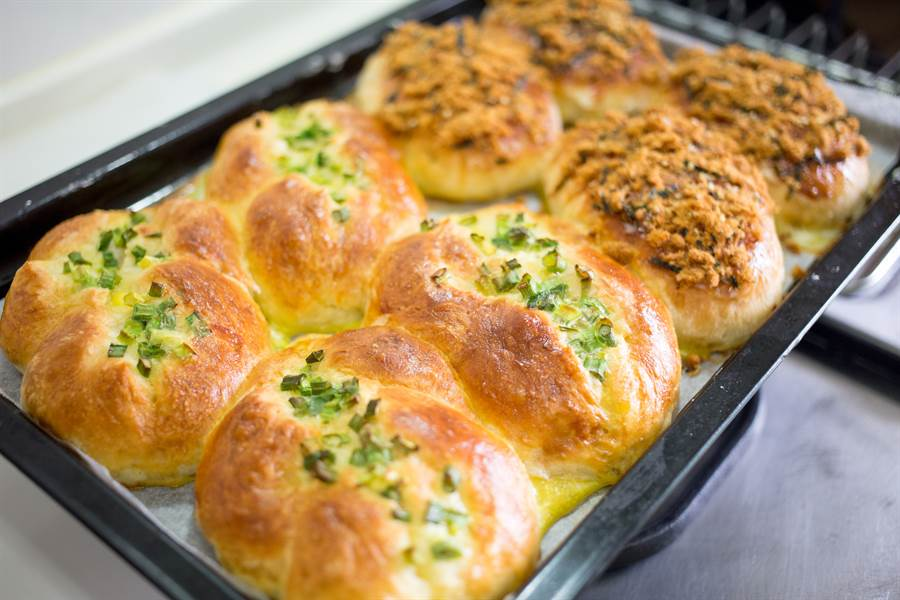 青蔥麵包與肉鬆也有不少愛好者(示意圖/達志影像)
