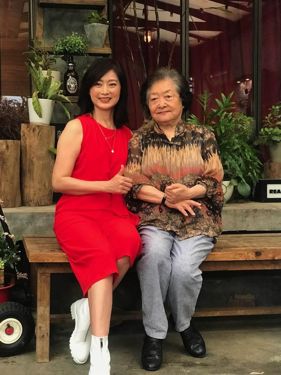 劉瑞琪與劉引商出席公視《我是周時青》首映。(林淑娟攝)