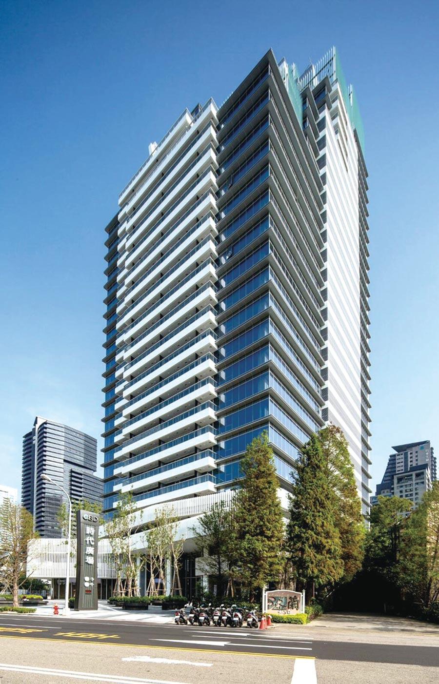 興富發建設旗下博元建設的台中「CBD時代廣場」被台銀人壽以7.6億元「打包」,大賺1.8億元。圖/興富發建設提供