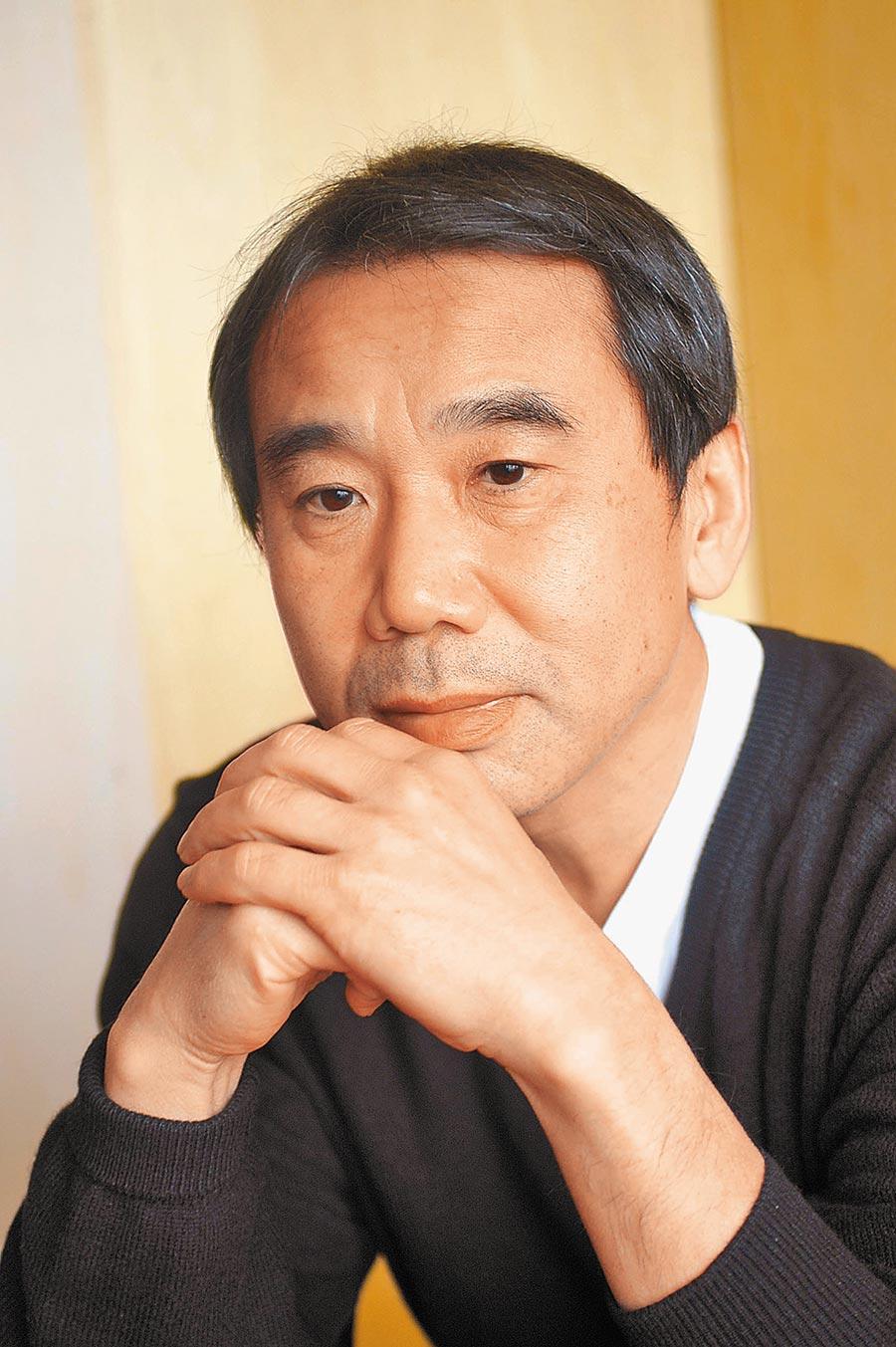日本作家村上春樹。(本報系資料照片)